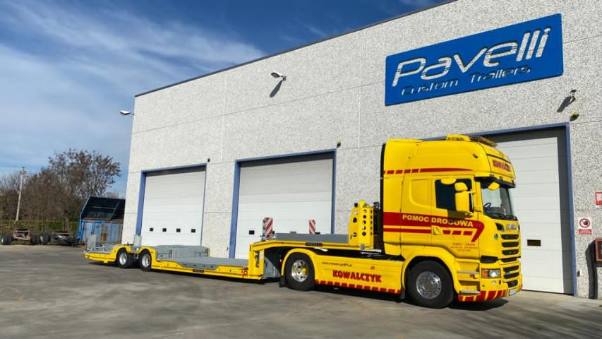 Trailer Pavelli STV Strong